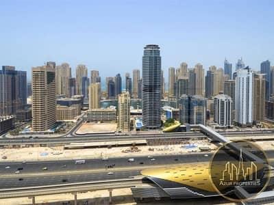 فلیٹ 2 غرفة نوم للبيع في أبراج بحيرات الجميرا، دبي - High floor | Marina view | 2 Bed | High ROI