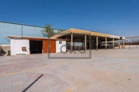 Warehouse for Sale in Al Quoz, Dubai - Warehouse shed cum Office|Plenty open area