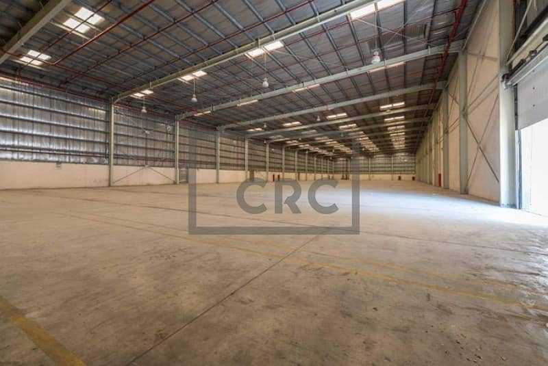Warehouse cum Office|full facility |12m Height