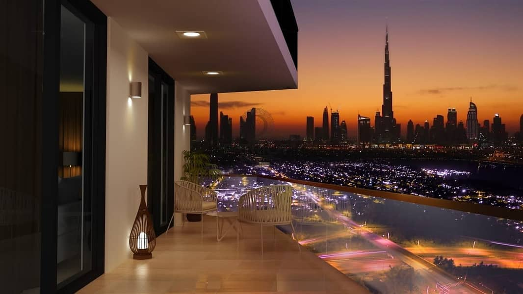 Burj Khalifa View  25% Discounted Price  Freehold Project