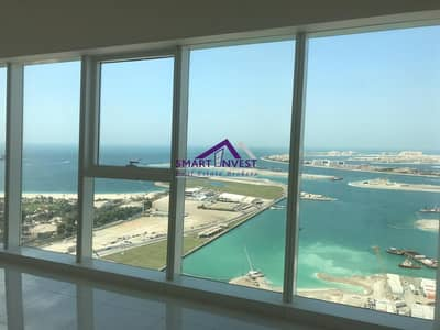 2 Bedroom Apartment for Rent in Dubai Marina, Dubai - Unfurnished 2BR Apt for rent in Damac Heights Tower