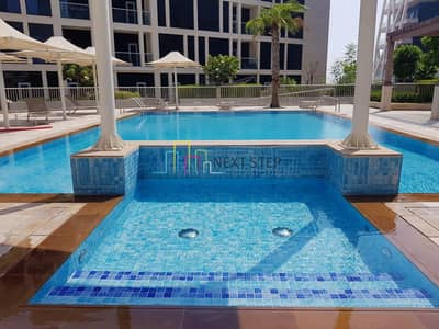 2 Bedroom Apartment for Rent in Al Bateen, Abu Dhabi - Amazing Serene View Two Bedroom Plus Laundry Room & with All Facilities