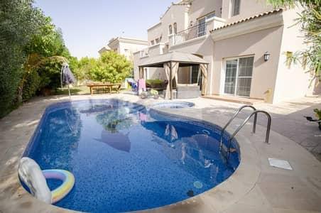 فیلا 6 غرف نوم للايجار في المرابع العربية، دبي - Private Pool | 6 Bedroom Type 18 | Quiet Location