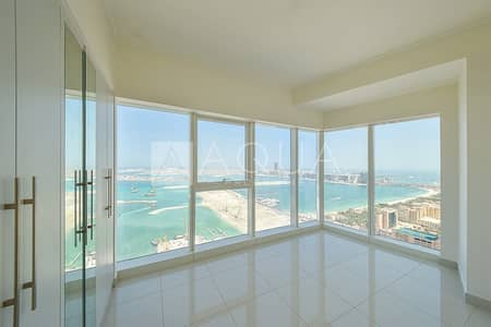 2 Bedroom Flat for Rent in Dubai Marina, Dubai - Unfurnished | 2 Bedrooms | Stunning Sea View