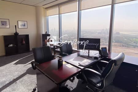 Fully Fitted Offices in Boulevard Plaza 2 with astonishing views