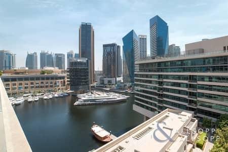 2 Bedroom Apartment for Sale in Dubai Marina, Dubai - Duplex Apartment | Marina Views | Vacant