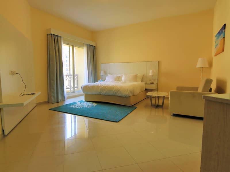Spacious furnished Studio  Rent   Bab Al Bahr