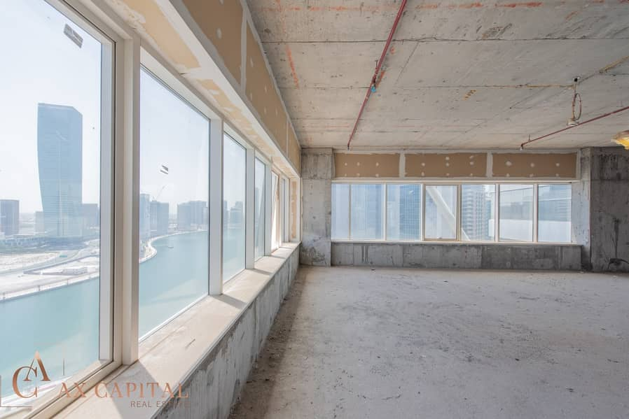 2 Full Floor | Shell & Core | Canal View