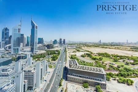 استوديو  للايجار في مركز دبي المالي العالمي، دبي - Large Unfurnished Studio  | DIFC Towers View | Sky Gardens