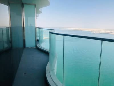 3 Bedroom Flat for Rent in Al Raha Beach, Abu Dhabi - Panoramic Sea View 3 Master Bed+Maids Brand New Tower All Facilities