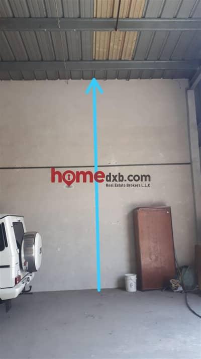 مستودع  للايجار في القوز، دبي - Insulated Warehouse