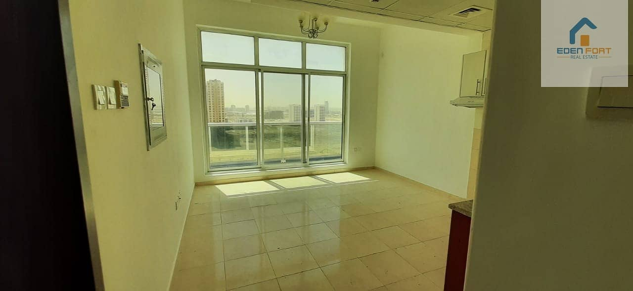 Bright Unfurnished Studio For Rent in DSC..