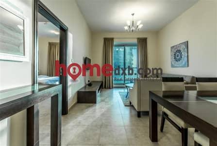 فلیٹ 1 غرفة نوم للبيع في أبراج بحيرات الجميرا، دبي - Sea-Lake Views