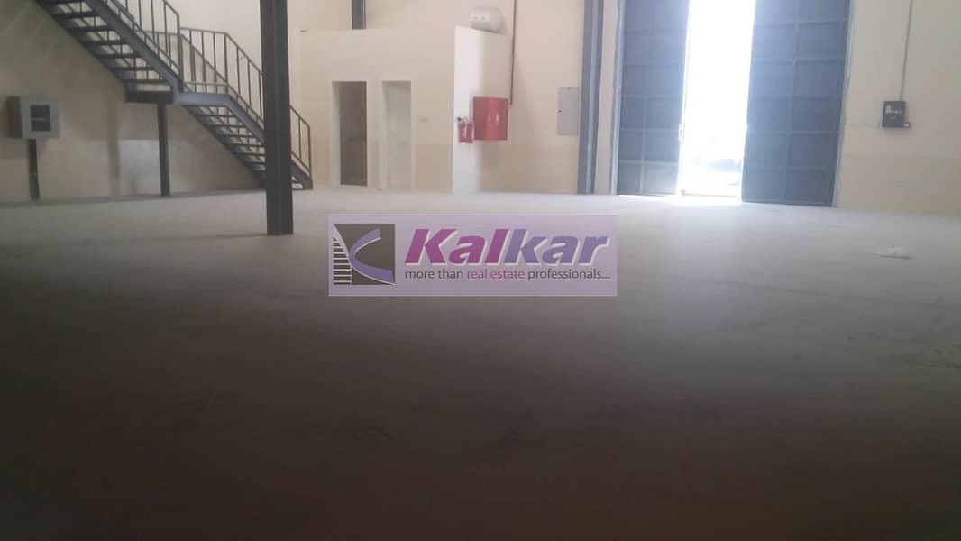 2500 sqft warehouse in qusais rent AED:85000/-