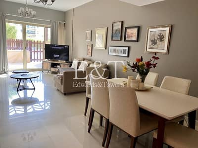 1 Bedroom Apartment for Sale in The Greens, Dubai - Upgraded 1BR + Court Yard | Pool View | Negotiable