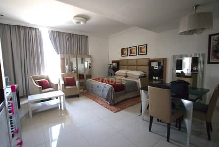 Studio for Rent in Business Bay, Dubai - Largest Studio | Fully Furnished | Multiple chqs