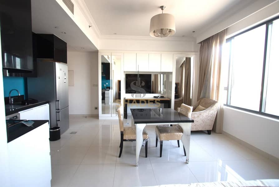 2 Mid floor|Fully Furnished Studio | Vacant