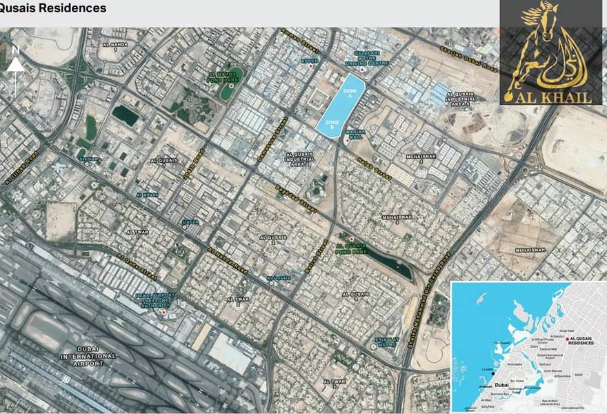8 Freehold Residential G+9 Plots In Al Qusais