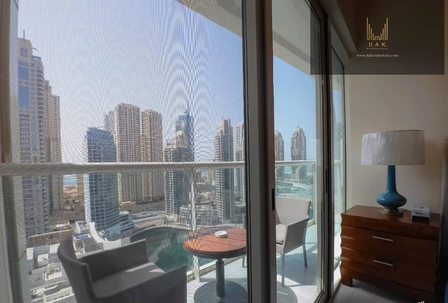 2 Furnished | Balcony | Amazing View