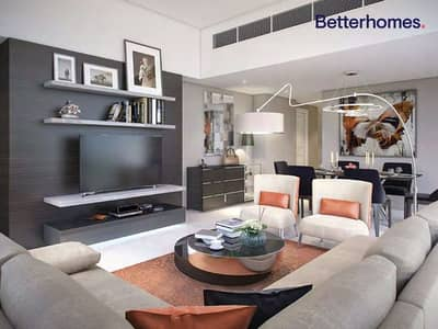 Studio for Sale in DAMAC Hills (Akoya by DAMAC), Dubai - Furnished | Serviced | High Floor | Hand Over Soon