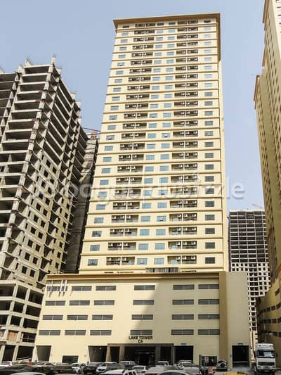 1 Bedroom Apartment for Sale in Emirates City, Ajman - DISTRESS DEAL. . . AVAILABLE ONE BEDROOM HALL WITH PARKING IN LAKE TOWER C4 AJMAN
