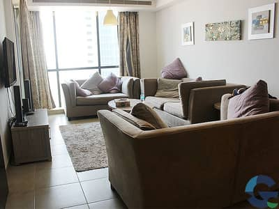 2 Bedroom Flat for Rent in Jumeirah Lake Towers (JLT), Dubai - Stunning Fully Furnished Luxury Apartment