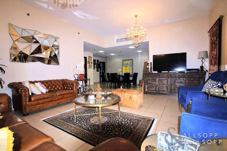 Vacant On Transfer | Partial Sea | 3 Beds