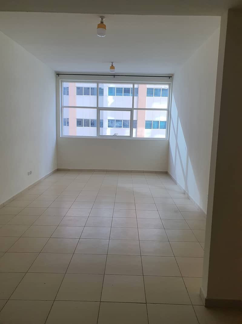 Studio for rent in Ajman Towers and the lowest rent