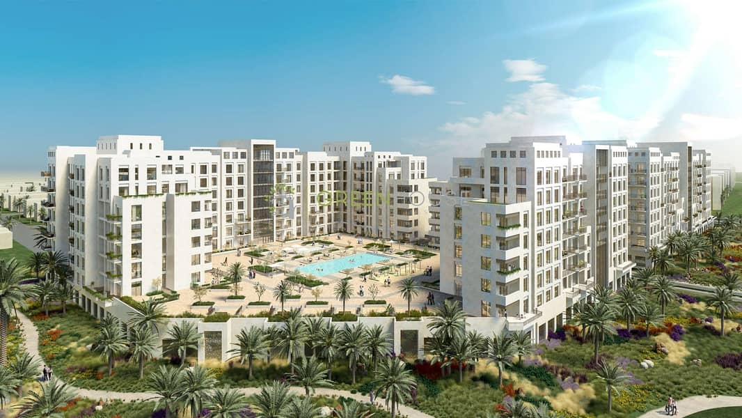 26 Rented Unit | Pool View | Spacious 2BR Apartment with Balcony | Zahra 2B