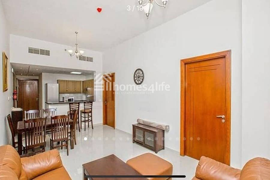 2 Spacious || Fully Furnished || 1BR