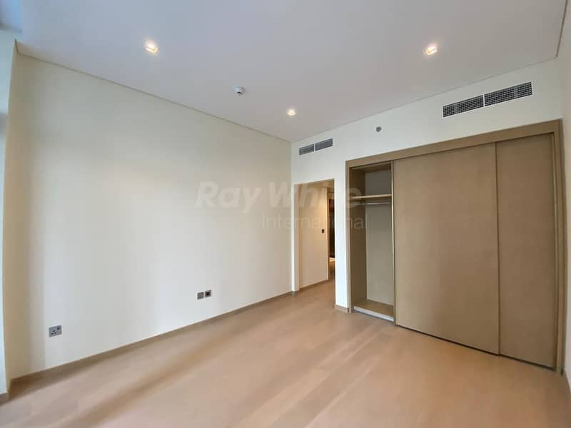 2 12 Cheques I Well Lit Brand New  Semi-Furnished 1 BR