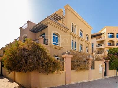 5 Bedroom Townhouse for Rent in Jumeirah Village Circle (JVC), Dubai - Large Corner Unit   5 Bed plus Maids   Diamond Views