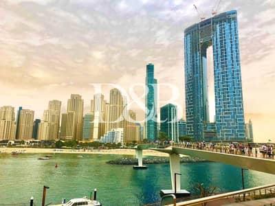 شقة 1 غرفة نوم للبيع في جميرا بيتش ريزيدنس، دبي - 360 Tour | Furnished and Serviced | Address Expert