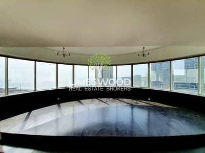 فلیٹ 3 غرف نوم للايجار في دبي مارينا، دبي - Panoramic Sea Sunset Views | Large 3 Bed | Free AC