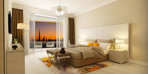 2 Bedroom Apartment for Sale in Bur Dubai, Dubai - Very special offer two bedroom apartment in the middle of Dubai with a view of Burj Khalifa. . . with monthly bayment blane