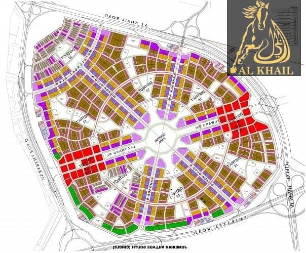 2 Freehold Residential G+4 Plot In Jumeirah Village Circle