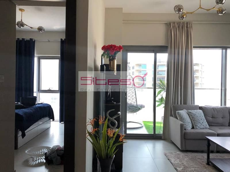 1 Unfurnished 1Bedroom/4 Cheques/Pool view/Near EXPO