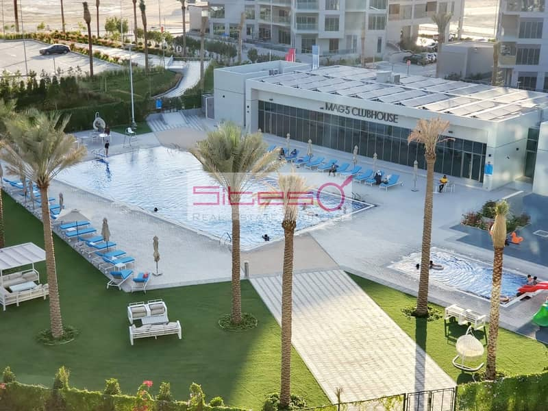 10 Unfurnished 1Bedroom/4 Cheques/Pool view/Near EXPO
