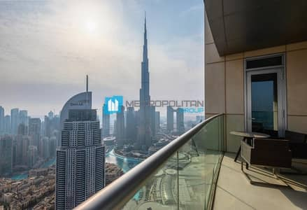 3 Bedroom Flat for Sale in Downtown Dubai, Dubai - Vacant| Brand new| Sky collection| Very high floor