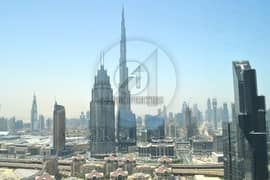 No Commission, 1 BR Full Burj View in Index Tower