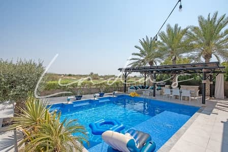 5 Bedroom Villa for Sale in Arabian Ranches, Dubai - Full Golf Course View |5 Beds| Upgraded Throughout