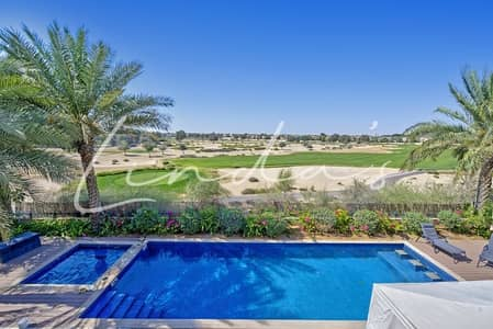6 Bedroom Villa for Sale in Arabian Ranches, Dubai - Golf Course View | Immaculate Condition | Vacant