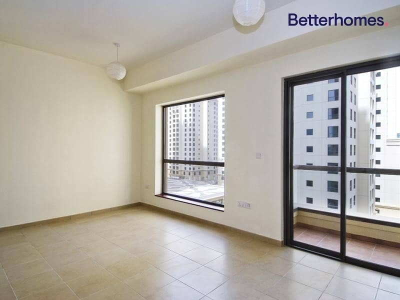 2 Unfurnished | Balcony | Partial Sea View