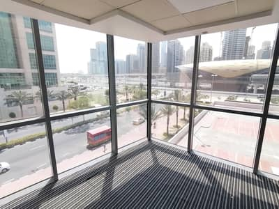 Office for Sale in Jumeirah Lake Towers (JLT), Dubai - Fitted | 2 cabins | Metro | Balcony