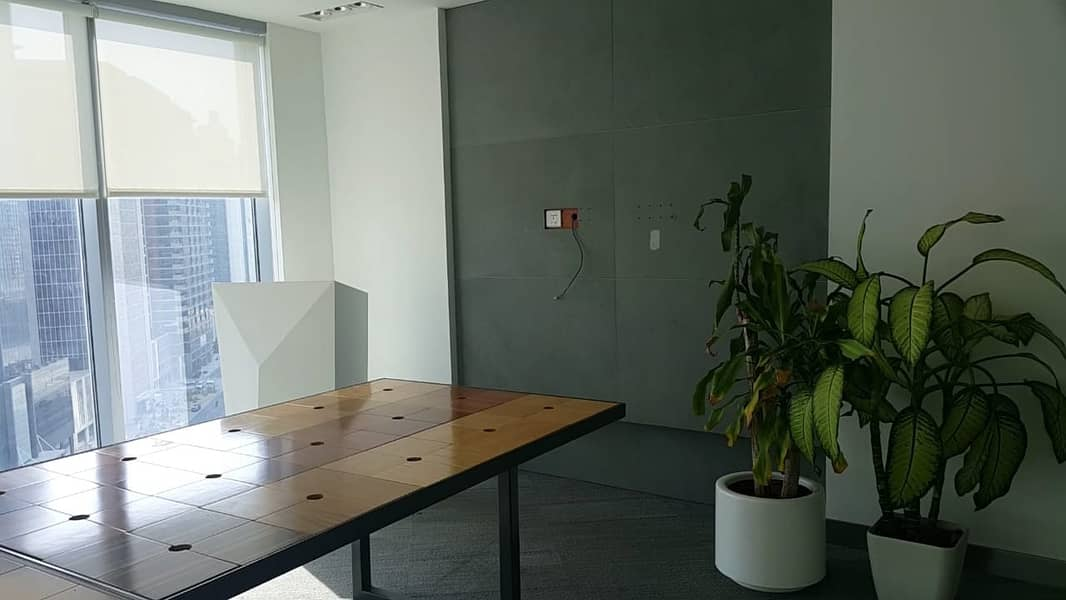 2 Fully Fitted Office |Glass Partitioned| Lake View