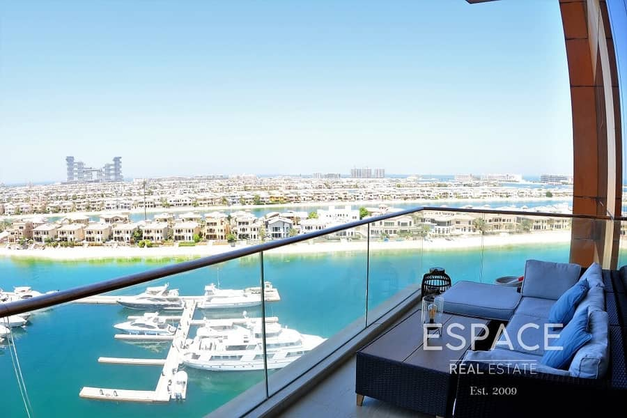 Stunning View | 2 Beds Plus Study