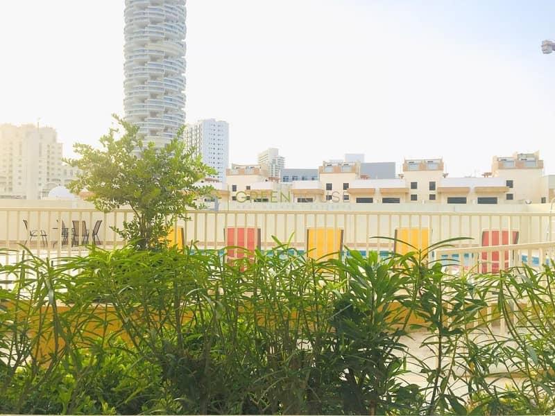 Pool View   1 Month Free   Lavish High-end 2 BR Apt.   Nargis Resi.