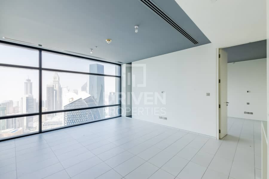 Best Layout 1 Bed Apartment. Facing DIFC