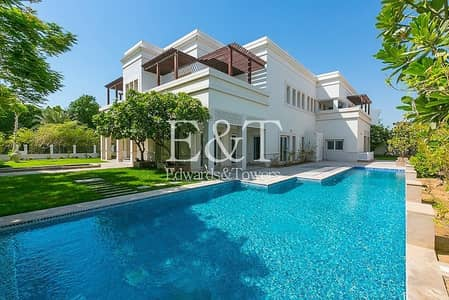 6 Bedroom Villa for Rent in Emirates Hills, Dubai - New renovation | large plot | contemporary pool