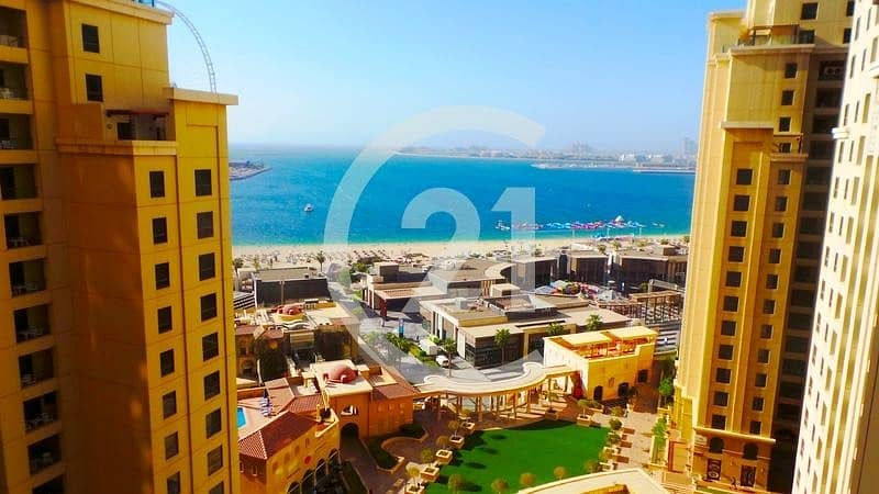 14 MONTHS CONTRACT | 0% COMMISSION | 2 BR FOR RENT READY TO MOVE IN | AMWAJ 3 JBR.